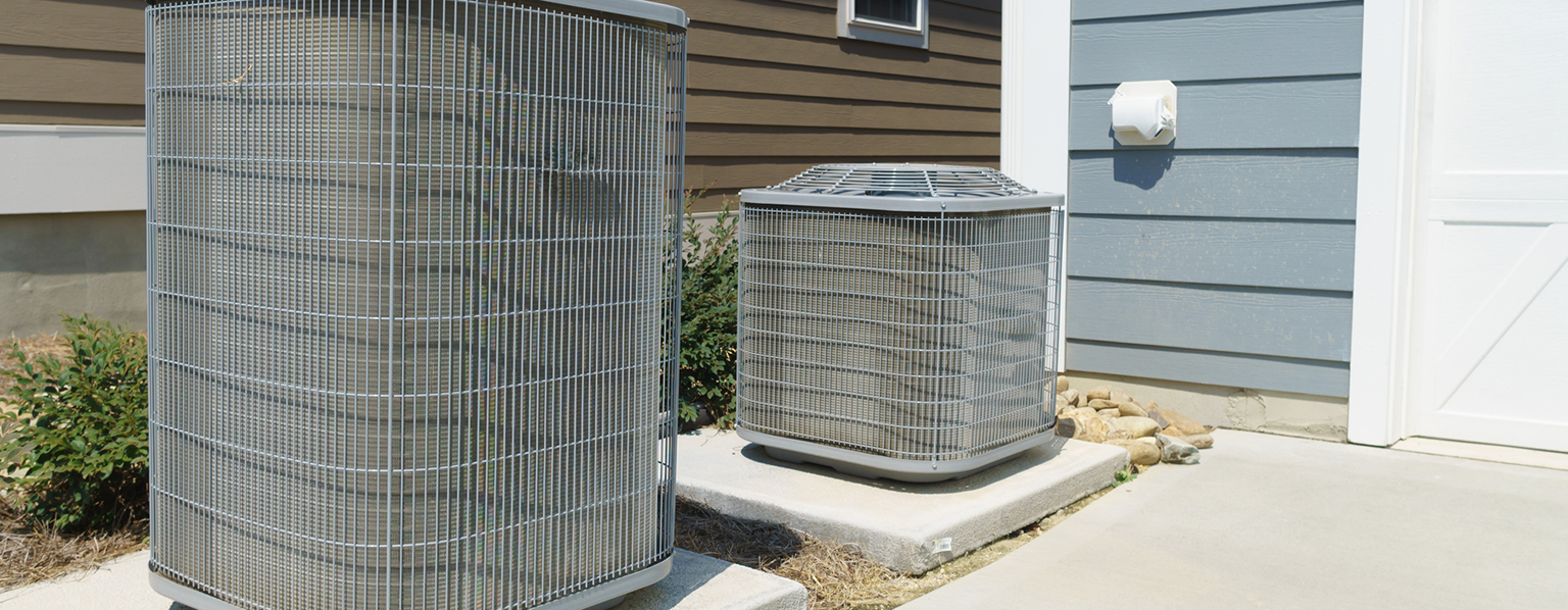 Two ac units outside of home