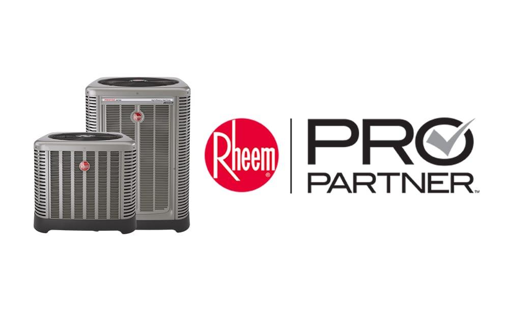 Rinaldi's is now a Rheem Pro Partner