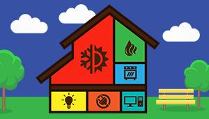 Home energy diagram