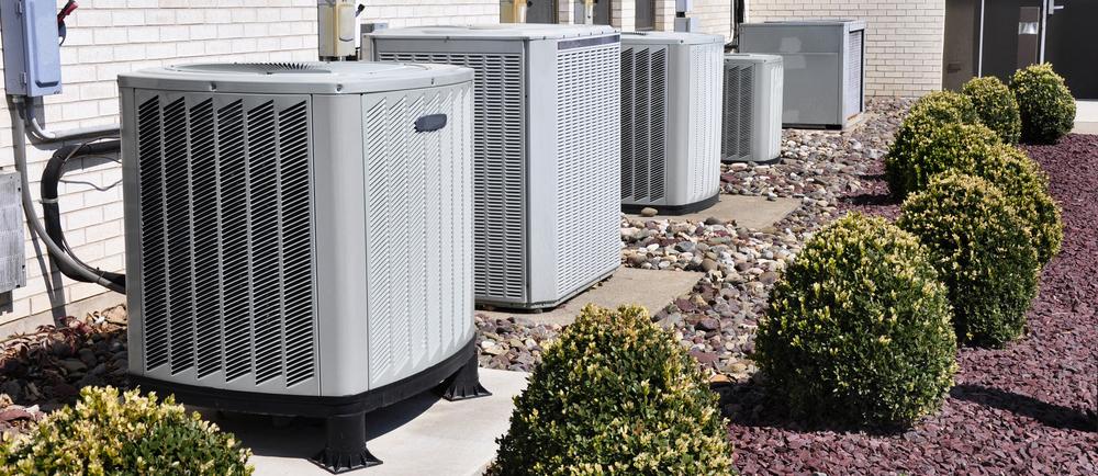 HVAC units outside of building